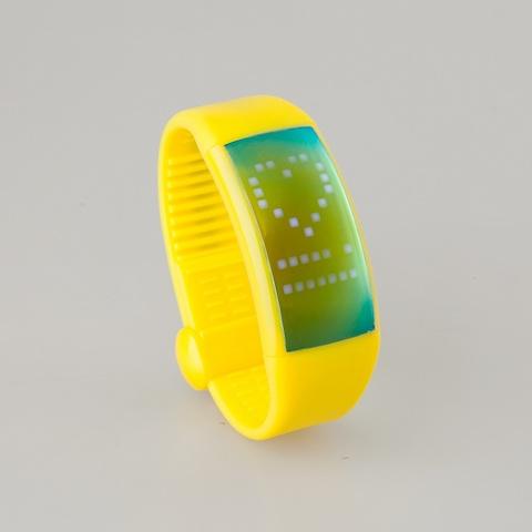 uPlaySmartWristBandWatchPedometerW1-Yellow3